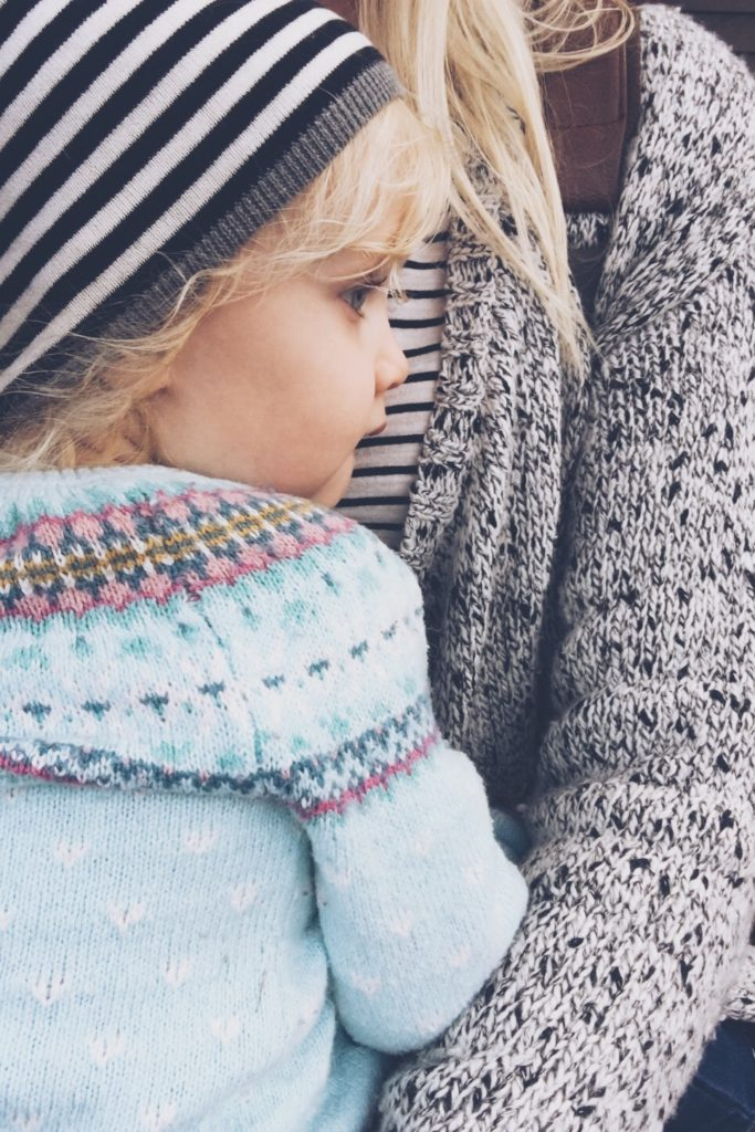 Why I Wear My Daughter - Girl of Cardigan