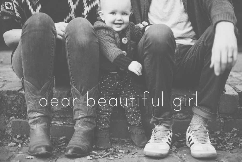 Dear Beautiful Girl - Girl of Cardigan