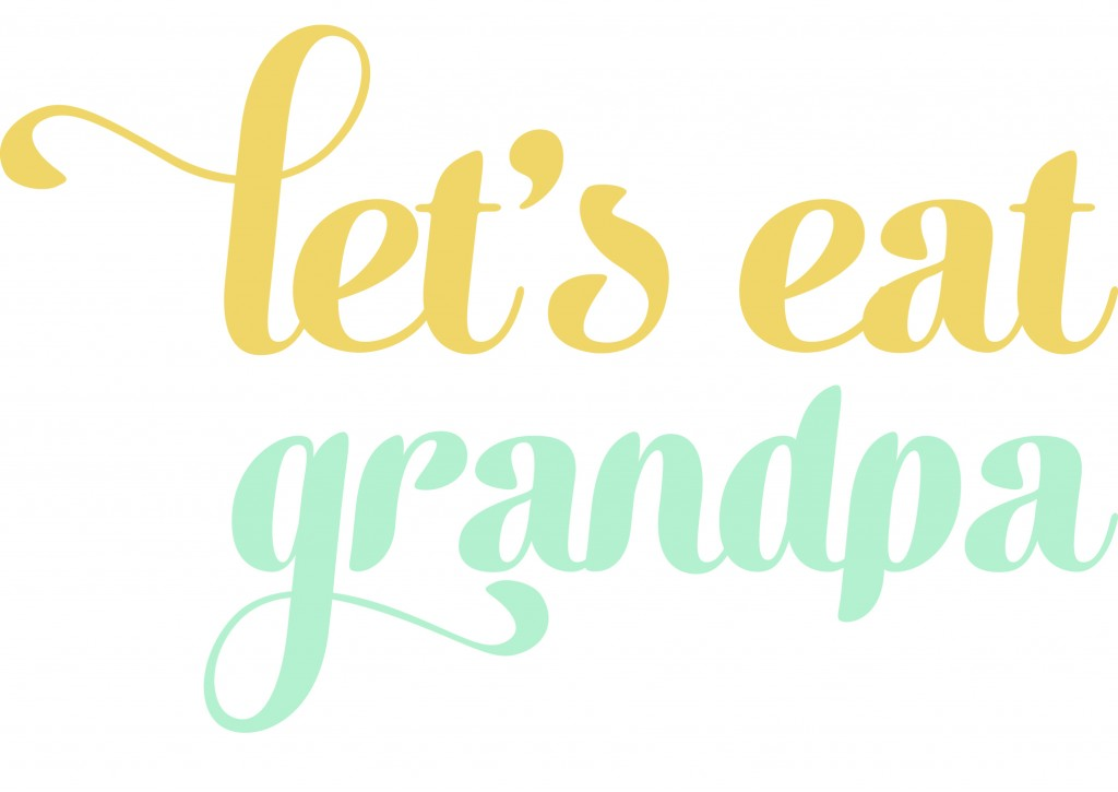Let's Eat Grandpa Guest Post - Girl of Cardigan