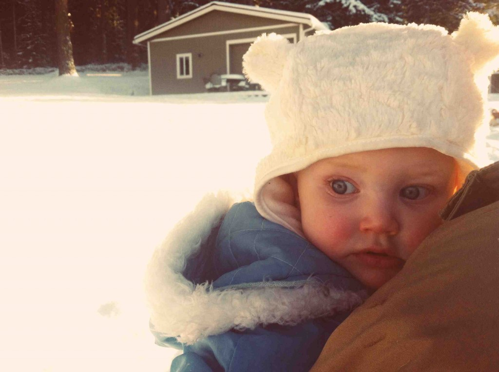 Snow Day - Girl of Cardigan