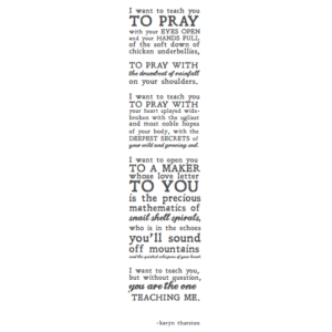 PrayerPrint