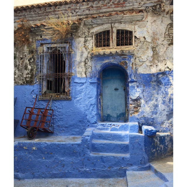 Oh chefchaouen  you are the most welcome breath ofhellip